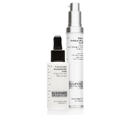 Algenist Concentrated Serum and Retinol Serum Duo