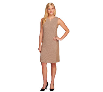 Liz Claiborne New York Regular Ponte Knit Dress - A256407