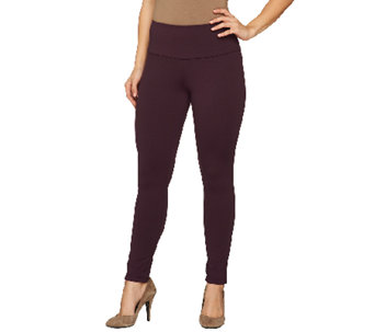 Women with Control Ponte di Roma Regular Tushy Lifter Pants - A258507
