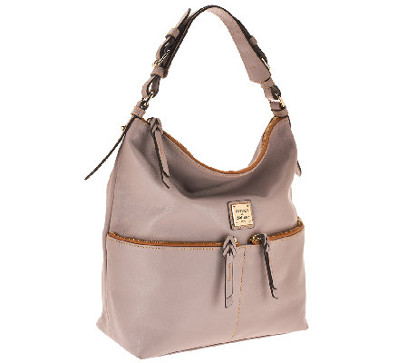 """As Is"" Dooney & Bourke Seville Leather Callie Hobo"