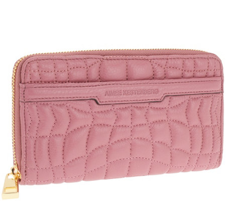 """As Is"" Aimee Kestenberg Quilted Wallet"