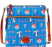 Dooney & Bourke MLB Nylon Rangers Crossbody - A281507