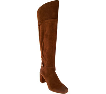 Franco Sarto Suede Tall Shaft Boots - Pava - A282607