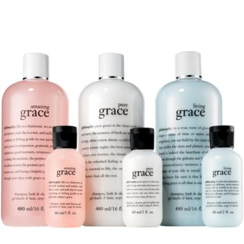 philosophy 6-piece state of grace shower gel set