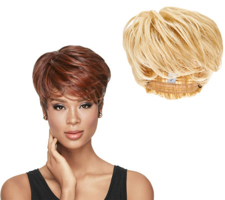 LUXHAIR by Sherri Shepherd Tapered Tomboy Pixie Cut Wig
