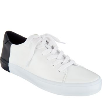 ED Ellen DeGeneres Leather Lace-up Sneakers - Darien