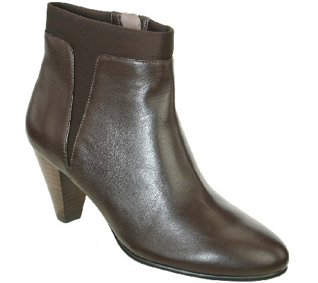 David Tate Leather Booties - Vivian