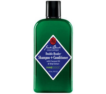 Jack Black Double-Header Shampoo + Conditioner,16 oz - A340307