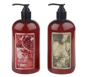 WEN by Chaz Dean Sweet Almond Mint and Pomegranate Duo - A215608