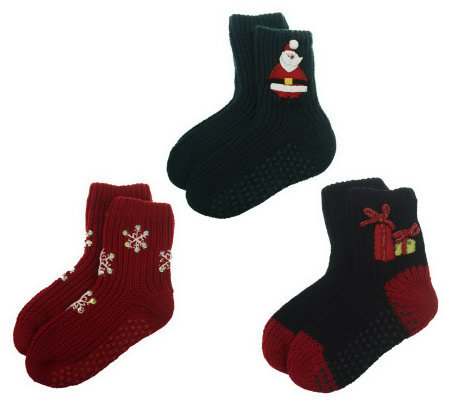 Legacy Legwear Holiday Sock 3-Pair Assortment Pack