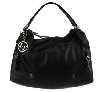 """As Is"" MaxxNew York Nappa Leather Hobo - A228008"