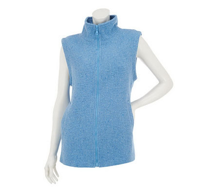 Boyne Valley Weavers Zip Front Vest