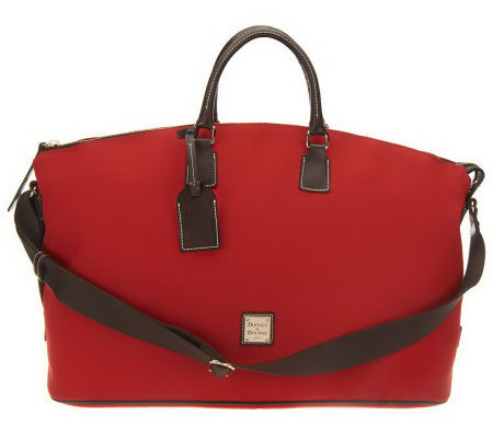 Dooney & Bourke Cabriolet Weekender Bag with Adjustble Strap