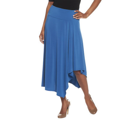 Women with Control Cascade Front Skirt with Tummy Control