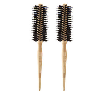 WEN by Chaz Dean Signature Boar Bristle Small Round Brush Duo - A234708