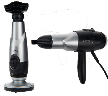 Calista Tools 2-in-1 Home Salon Hair Dryer w/ Fusion Heat