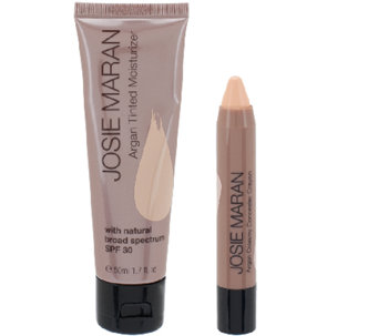 Josie Maran Argan Tinted Moisturizer and Concealer Duo - A258008
