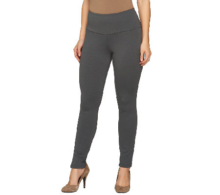 Women with Control Ponte di Roma Petite Tushy Lifter Pants