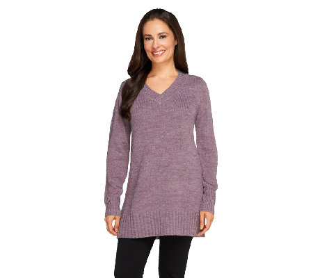 Linea by Louis Dell'Olio Pullover V-neck Sweater