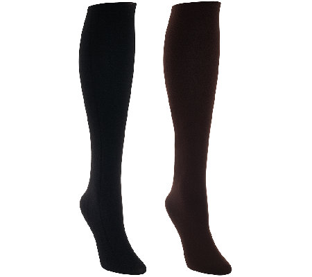 Legacy Set of 2 Reversible Tights with Control Top