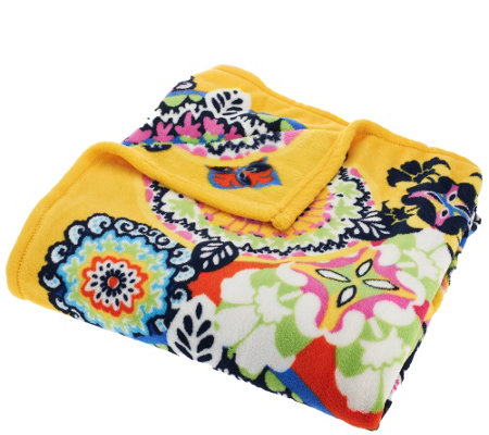 Vera Bradley Signature Print Throw Blanket