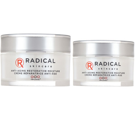 Radical Skincare Restorative Moisture with Travel Size