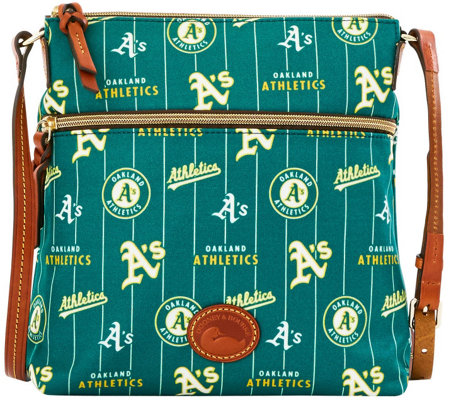 Dooney & Bourke MLB Nylon Athletics Crossbody