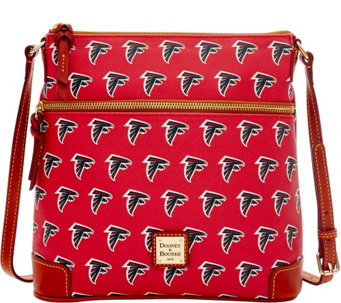 Dooney & Bourke NFL Falcons Crossbody - A285708