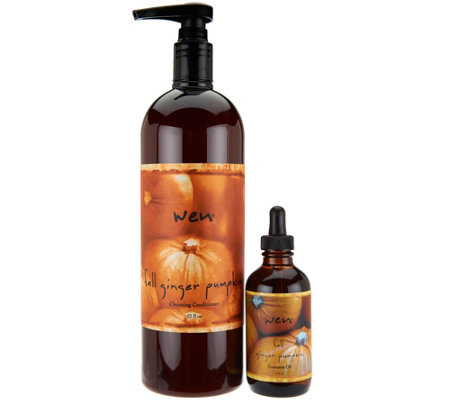 WEN by Chaz Dean 32 oz. Fall Cleansing Cond. with 4 oz. Oil