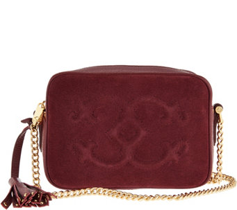 """As Is"" C. Wonder Pebble Leather and Suede Crossbody Handbag - A291608"