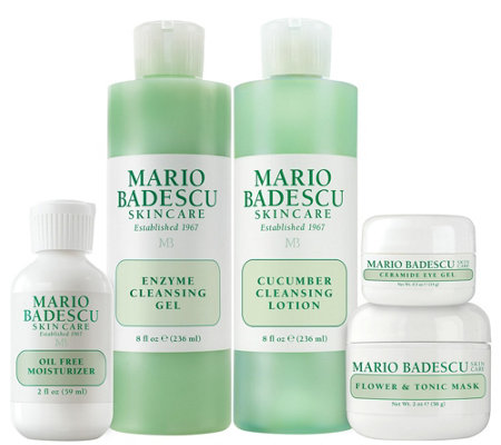 Martha Stewart & Mario Badescu Skin Care 20s 5-Piece Kit