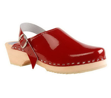 Cape Clogs Cranberry Red Style Clogs