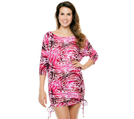 Simply Sole Skin Deep Tunic Cover-Up