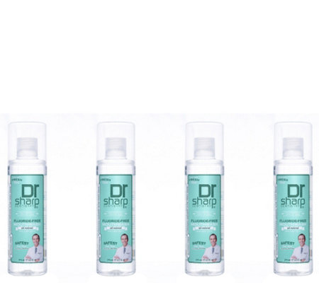 Dr. Sharp Fresh Mint Alcohol-Free Mouthwash 4-Pack