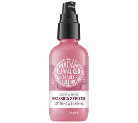 Madam C.J. Walker Soft & Silkening Brassica Seed Oil 1.7 oz