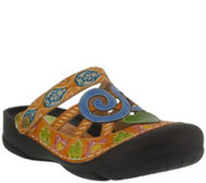 Spring Step L'Artiste Leather Clogs - Bombay