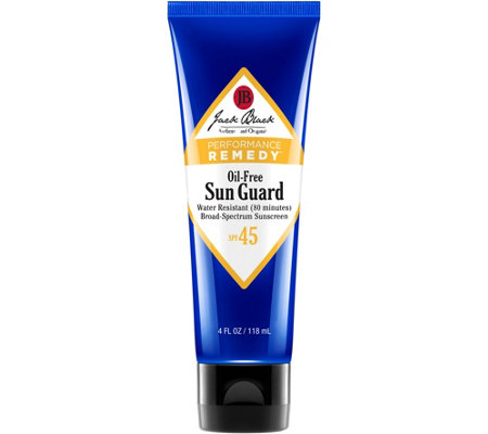 Jack Black Sun Guard Sunscreen SPF 45 Water Resistant, 4 oz