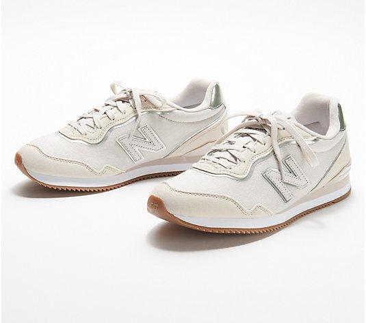 New Balance Classic Lace-Up Sneakers - Sola Sleek - QVC.com