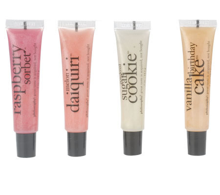 philosophy very emollient flavored 4-pc. lip collection