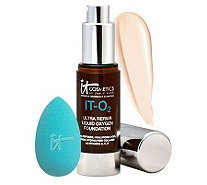 IT Cosmetics IT-O2 Oxygen Liquid Foundation with Sponge - A231709