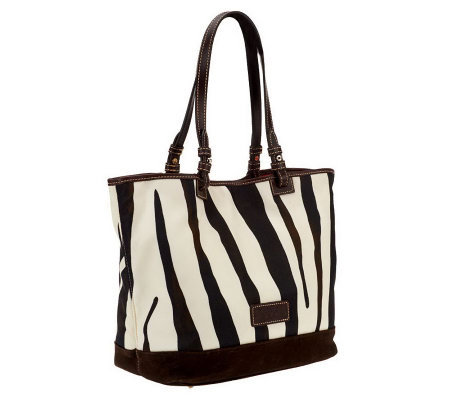 Dooney & Bourke Animal Print Nylon Tote