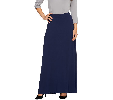 Nicole Richie Collection Pull On Maxi Skirt with Fish Tail