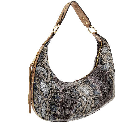 Aimee Kestenberg Half-Moon Pebble Leather Hobo - Jetta