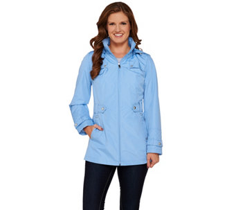 Liz Claiborne New York Jacket with Quilting Details - A272909
