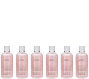 philosophy 6 piece amazing grace shower gel collection - A273209