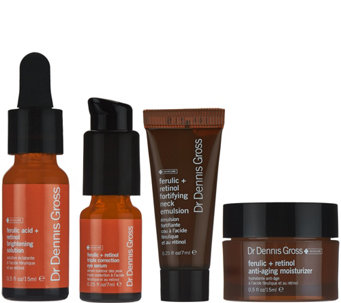 Dr. Gross Ferulic & Retinol 4-pc Best Sellers Kit - A278309