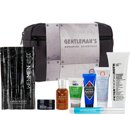 QVC Men's 8-pc Sampling Collection w/ Bag