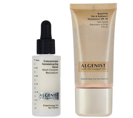 Algenist Concentrated Reconstructing Serum & Tinted Moisturizer