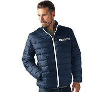 NFL Dallas Full Zip Quilted Packable Polyfill Jacket - A280709