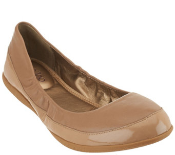 """As Is"" Me Too Leather Ballet Flats - Heart - A281209"